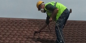 roof tile painting